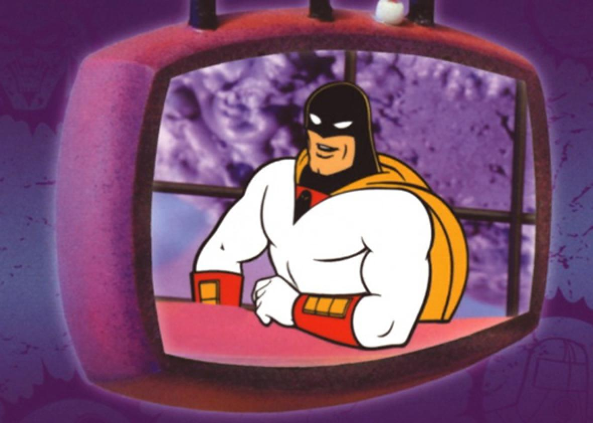 Nice Images Collection: Space Ghost Desktop Wallpapers