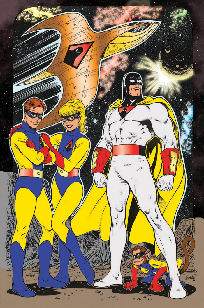 Nice wallpapers Space Ghost 700x1060px