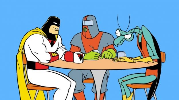 HD Quality Wallpaper | Collection: Cartoon, 624x350 Spaceghost