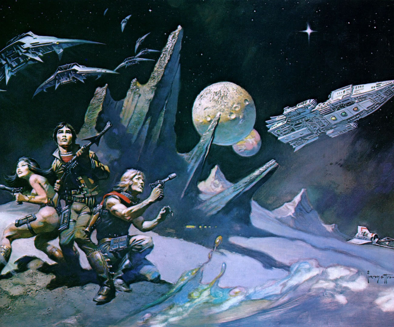 Nice Images Collection: Space Opera Desktop Wallpapers