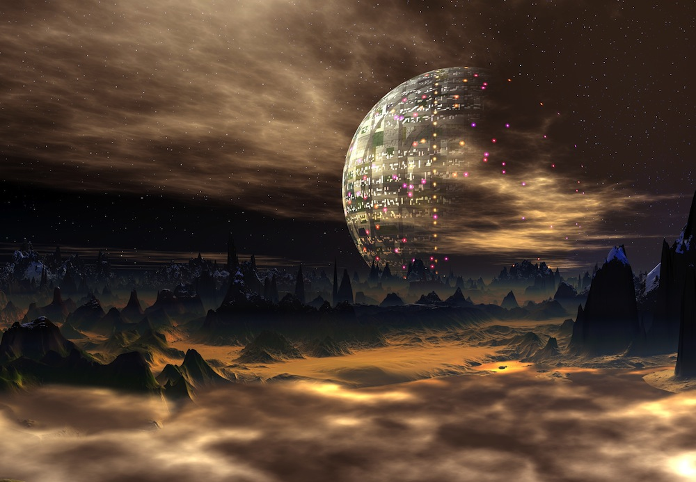 HD Quality Wallpaper | Collection: CGI, 1000x693 Space Opera