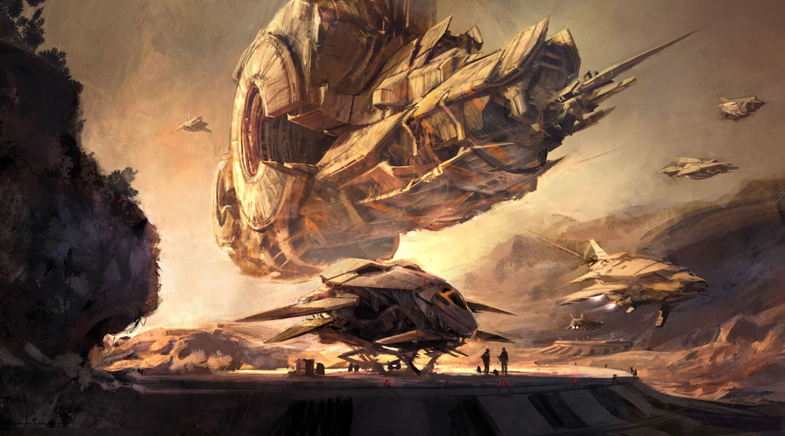 Nice wallpapers Space Opera 1134x630px