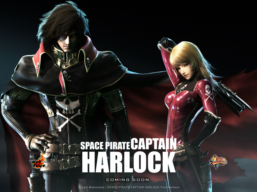 HD Quality Wallpaper | Collection: Cartoon, 880x660 Space Pirate Captain Harlock