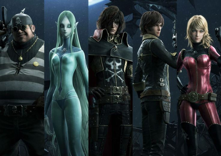 Space Pirate Captain Harlock Backgrounds on Wallpapers Vista