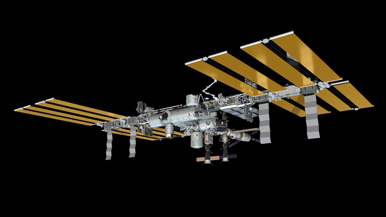 Nice Images Collection: Space Station Desktop Wallpapers