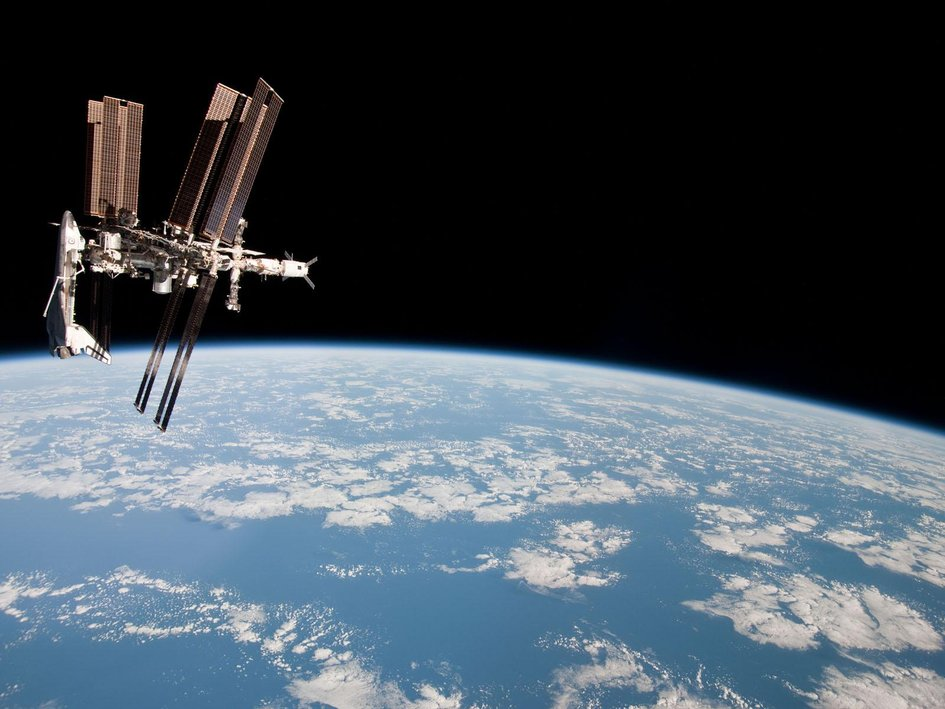 Nice wallpapers Space Station 945x709px