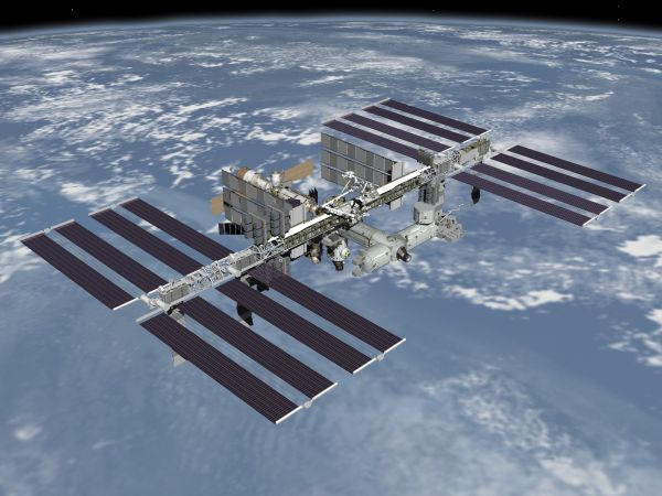 Nice wallpapers Space Station 600x450px