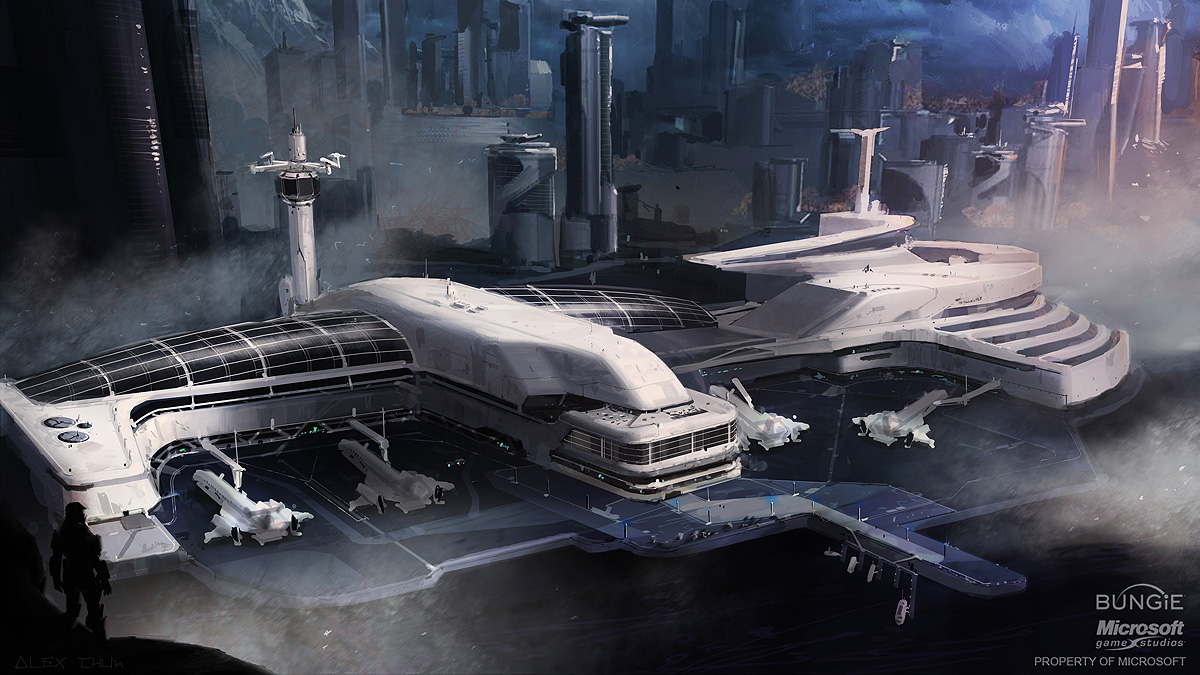 HQ Spaceport Wallpapers   File 309.72Kb
