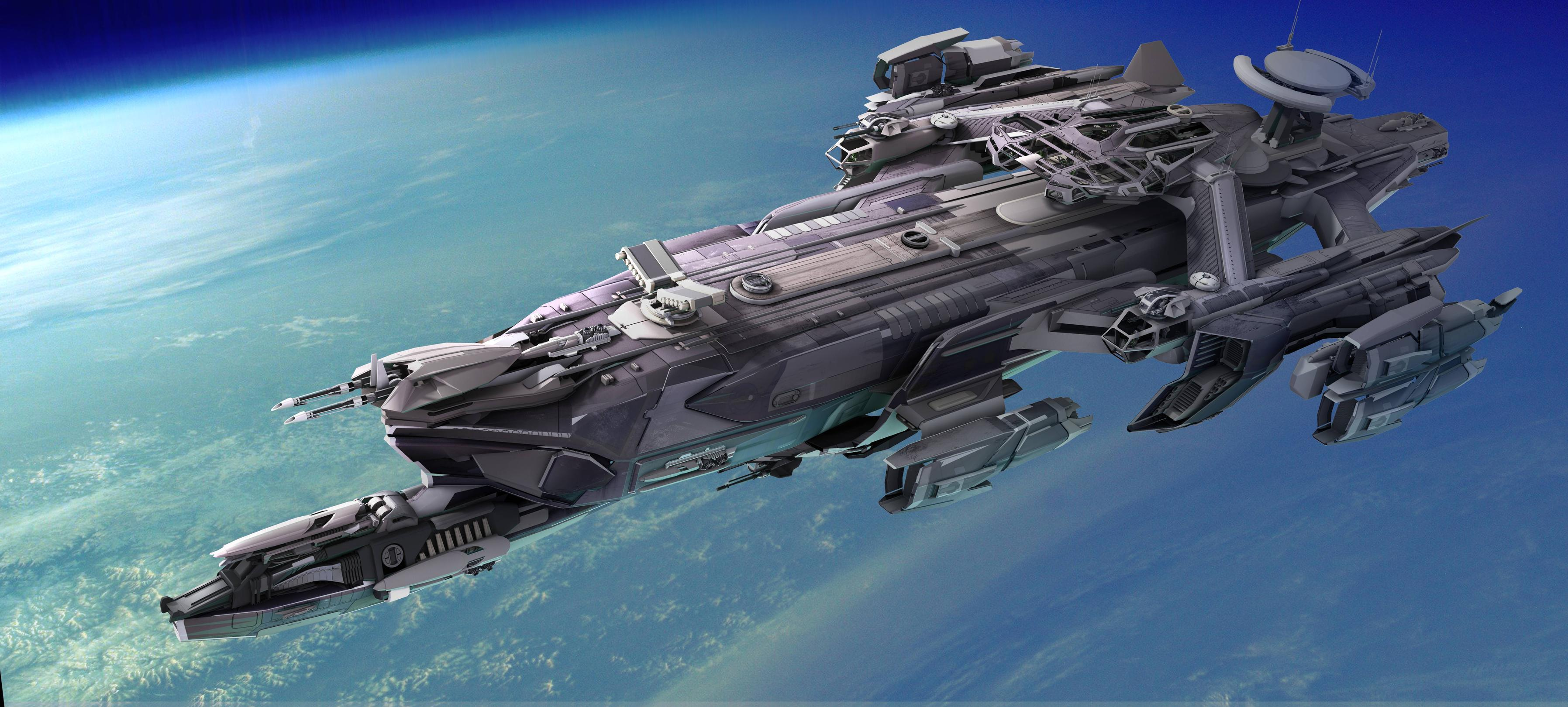 Spaceship High Quality Background on Wallpapers Vista