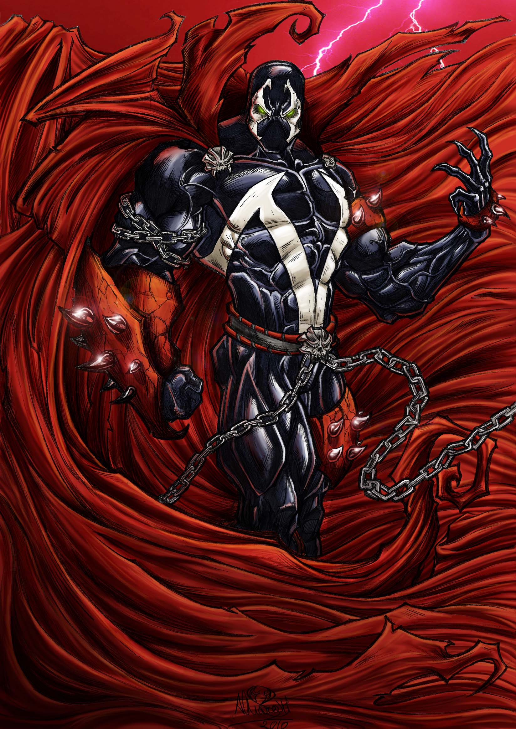 Spawn Wallpapers Comics Hq Spawn Pictures 4k Wallpapers 2019
