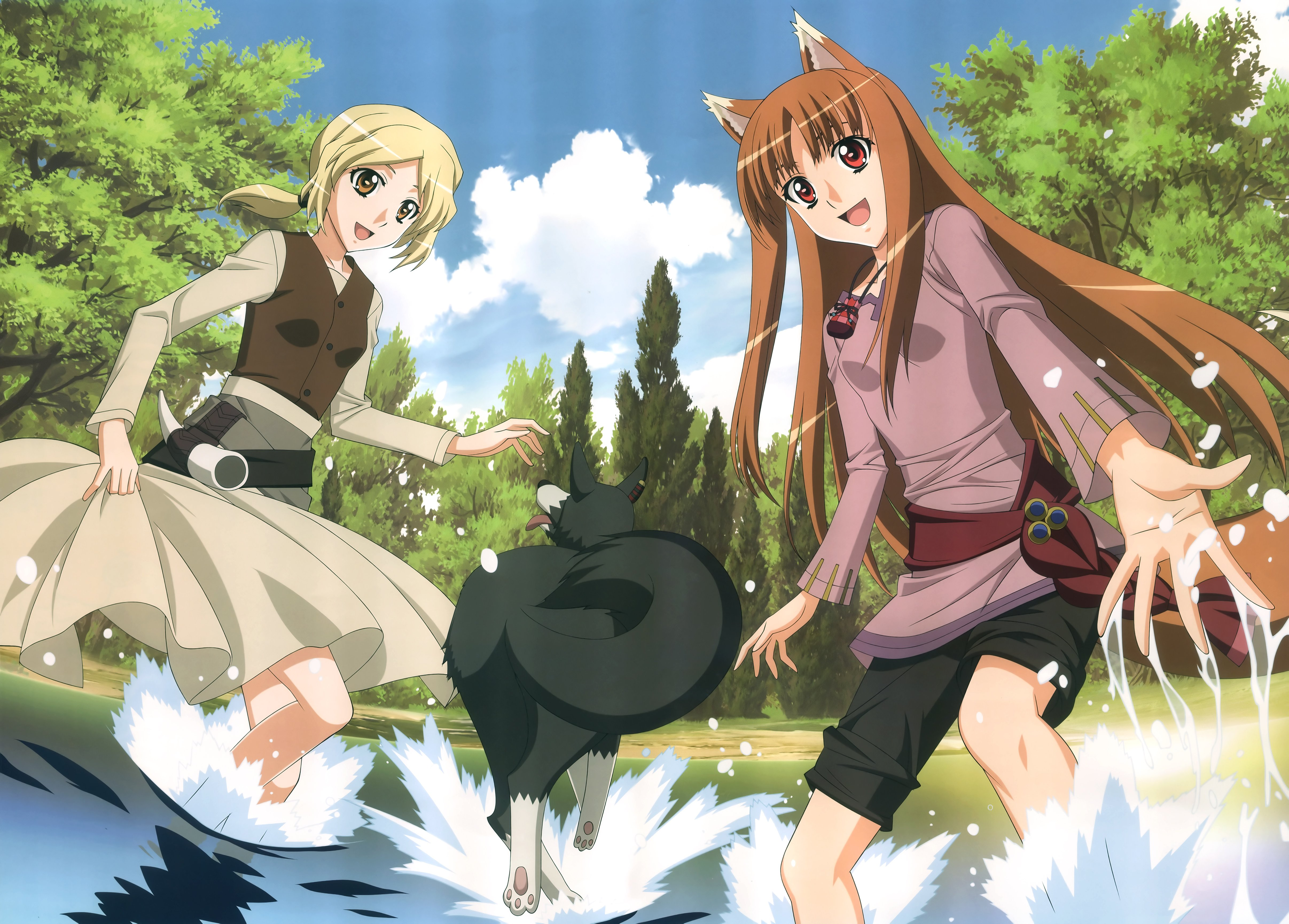 Spice And Wolf Wallpapers Anime Hq Spice And Wolf Pictures 4k