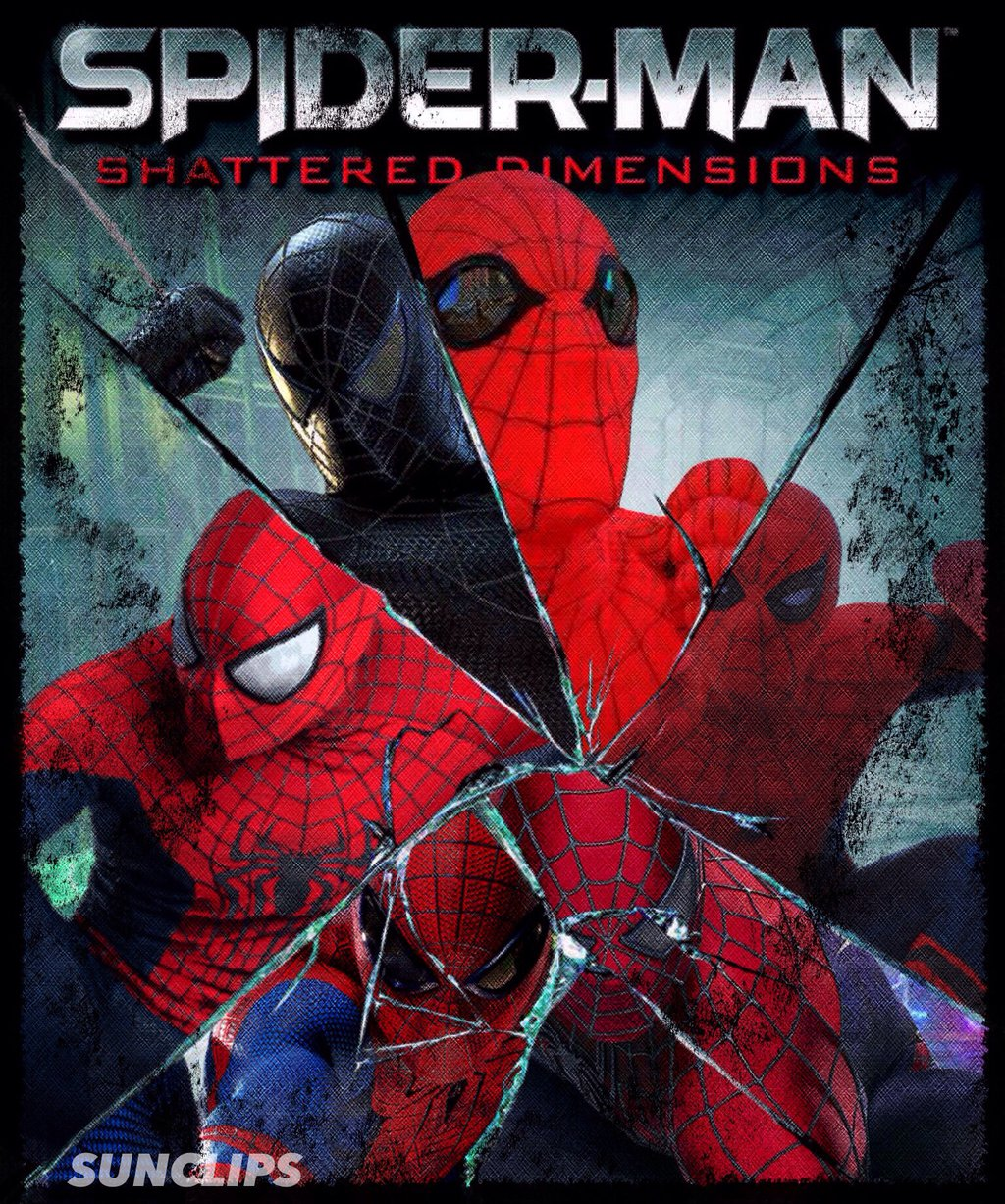 Spider Man Shattered Dimensions Wallpapers Video Game Hq Spider
