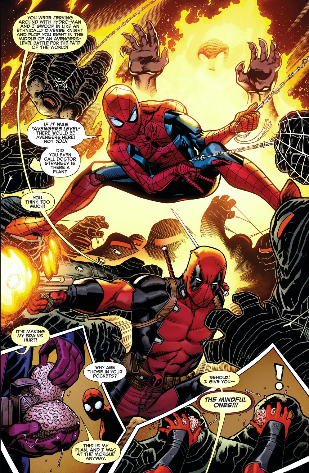 Spiderman Vs Deadpool Wallpapers Comics Hq Spiderman Vs Deadpool Pictures 4k Wallpapers 2019