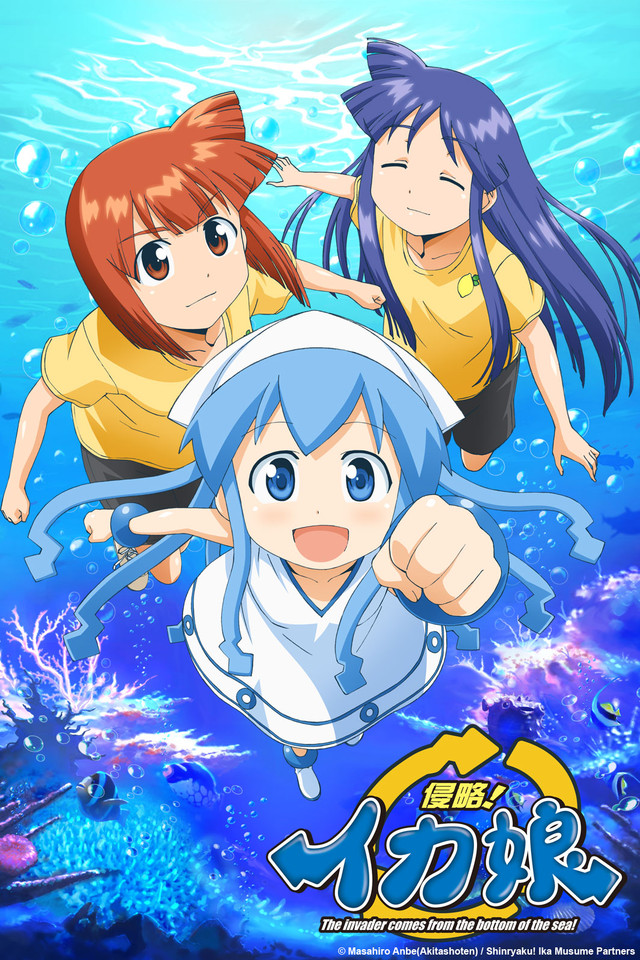 Squid Girl Wallpapers Anime Hq Squid Girl Pictures 4k Wallpapers 2019
