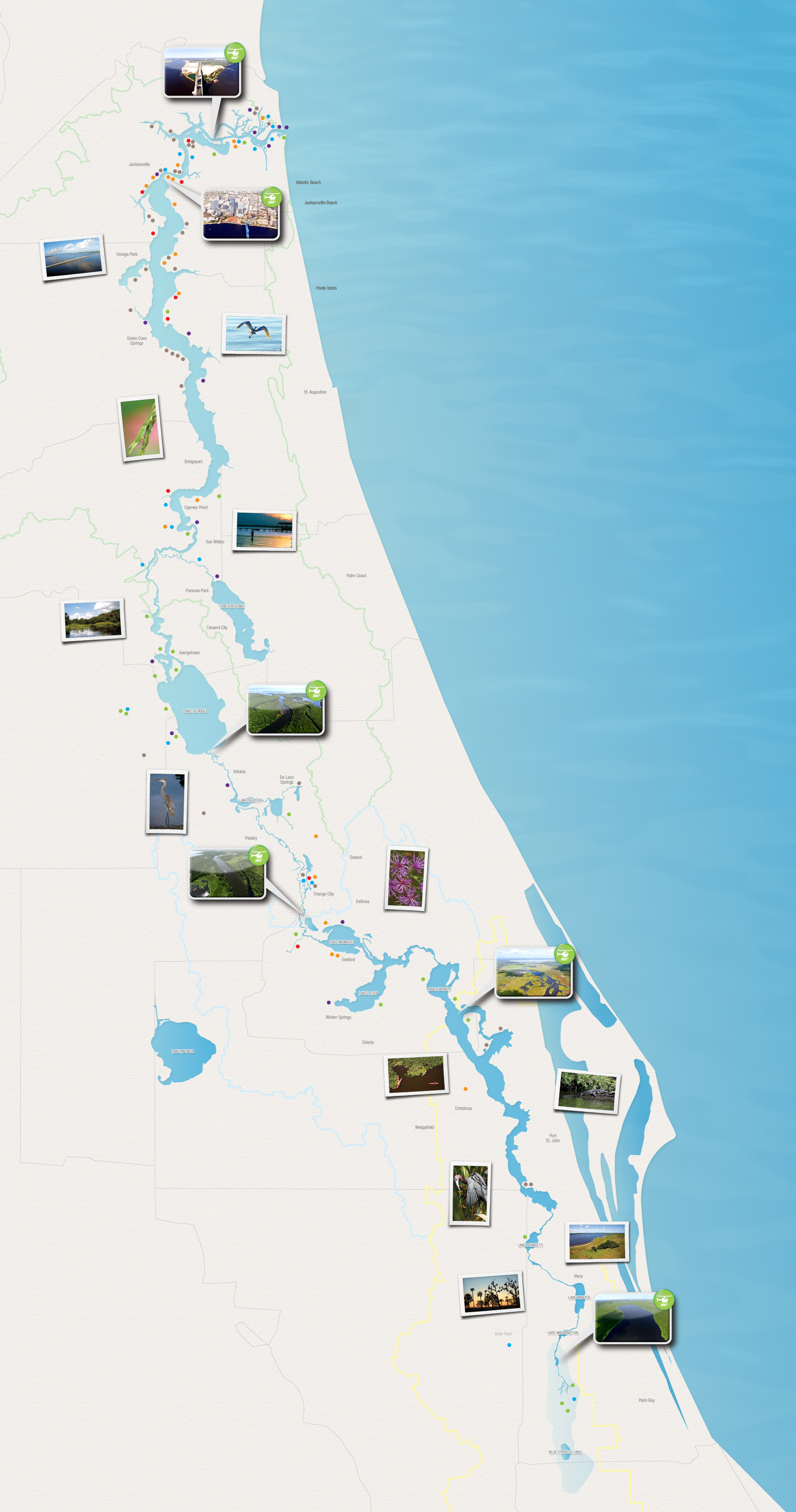 St. Johns River Pics, Artistic Collection