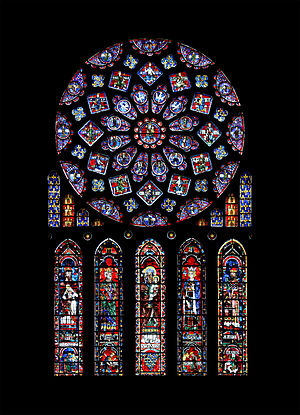 Nice wallpapers Stained Glass 300x415px