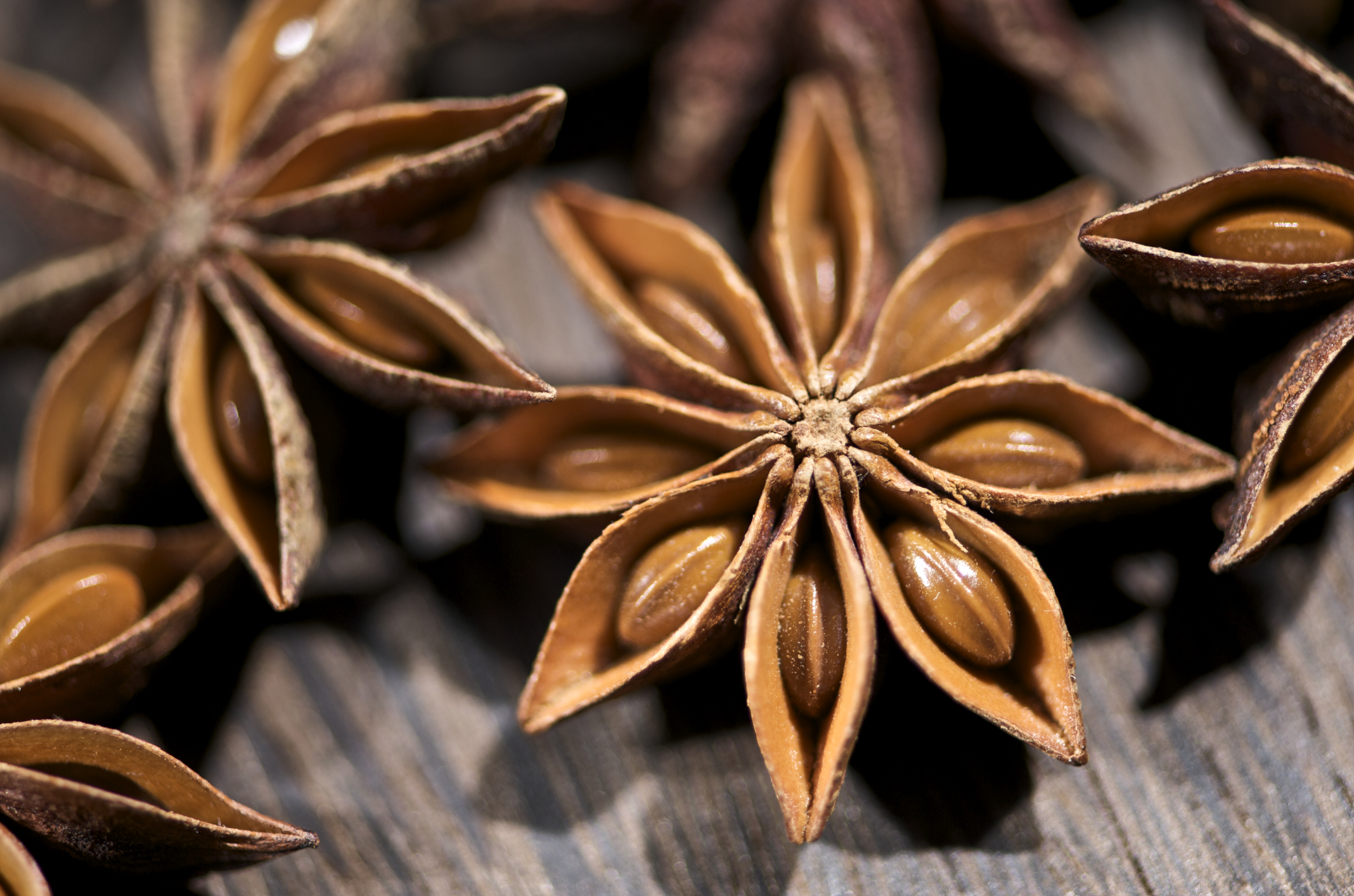 HD Quality Wallpaper   Collection: Food, 2136x1414 Star Anise