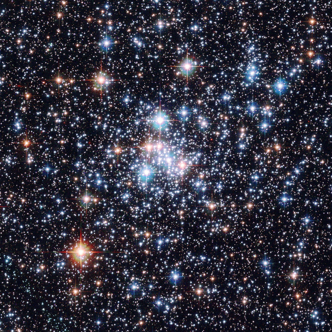 Nice wallpapers Star Cluster 1280x1280px