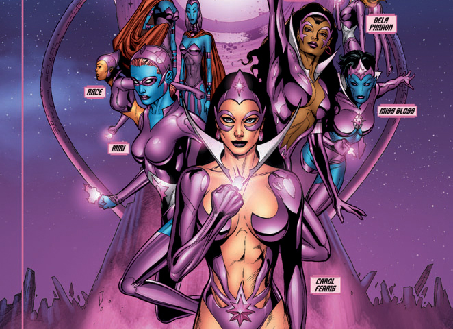 HD Quality Wallpaper | Collection: Comics, 662x480 Star Sapphire Corps