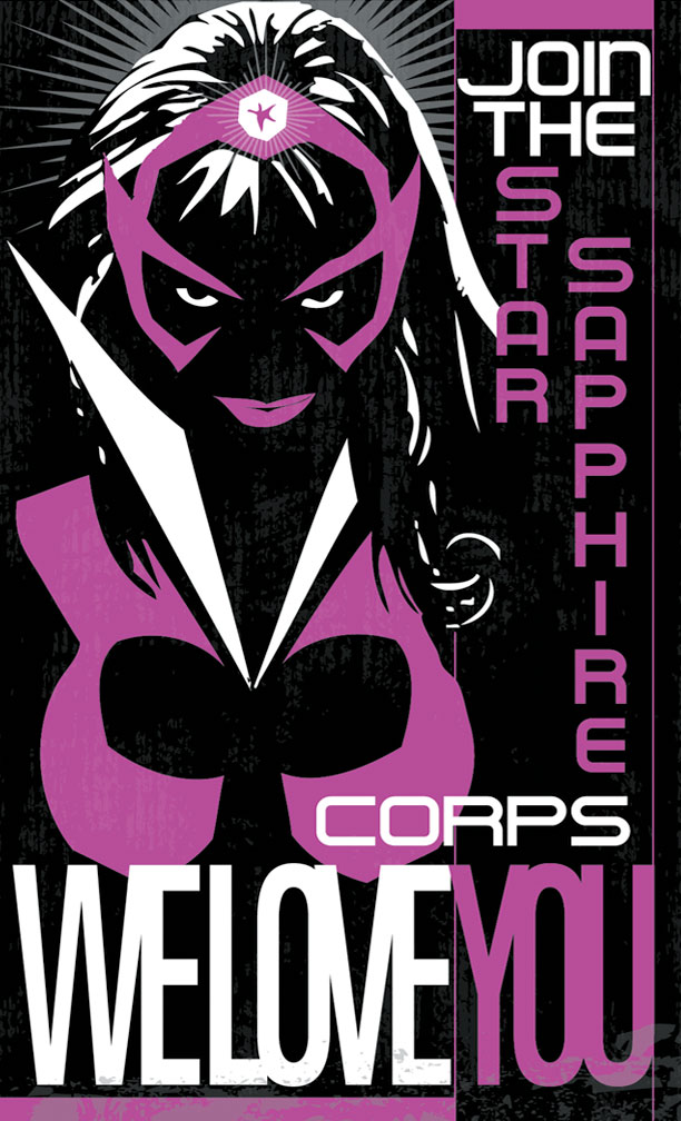 High Resolution Wallpaper | Star Sapphire Corps 612x1008 px