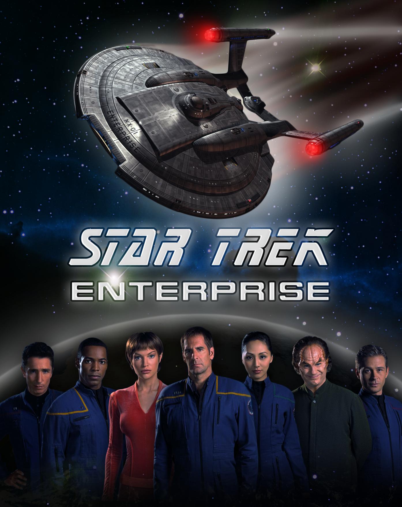Star Trek Enterprise Wallpapers Tv Show Hq Star Trek Enterprise Pictures 4k Wallpapers 2019