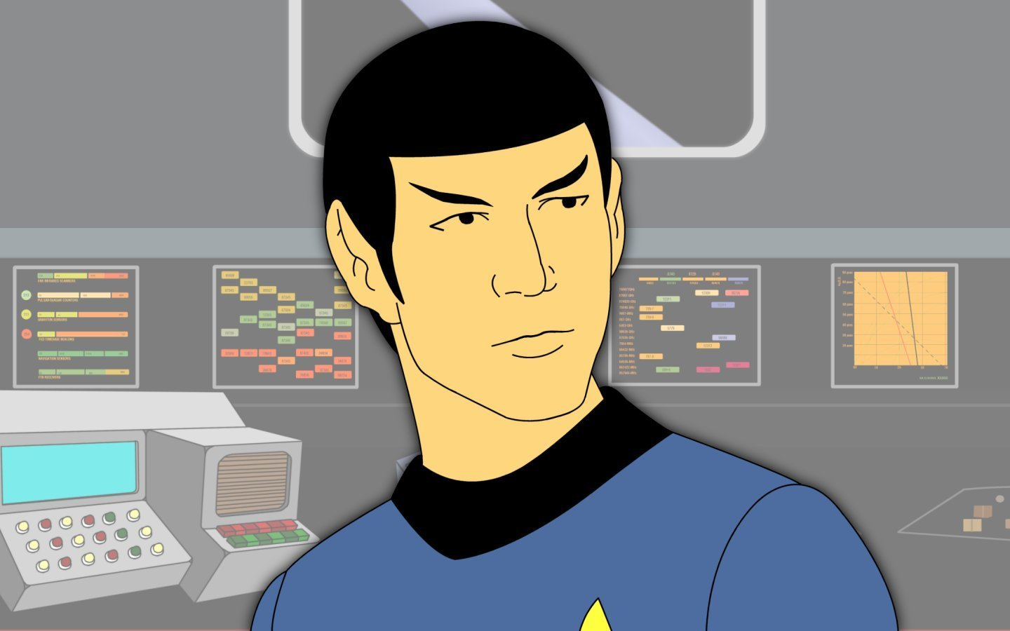 Nice Images Collection: Star Trek: The Animated Series Desktop Wallpapers