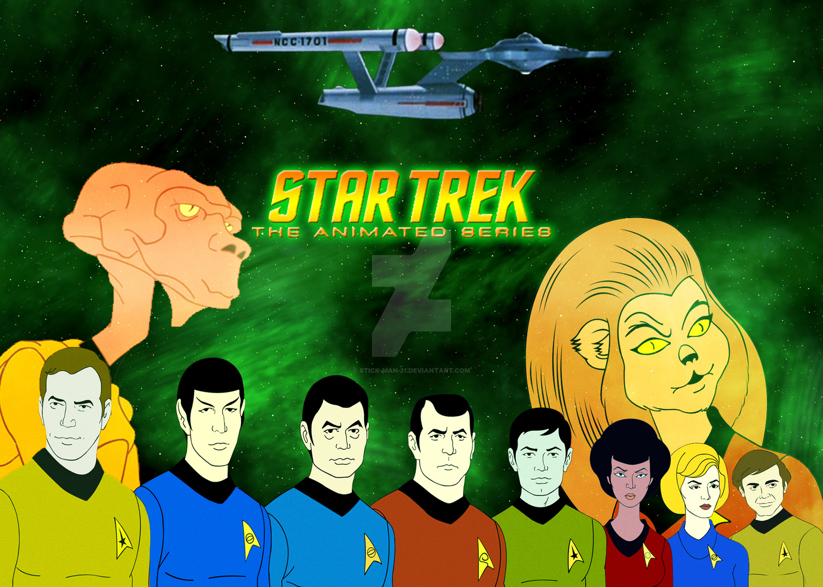 High Resolution Wallpaper | Star Trek: The Animated Series 1600x1143 px