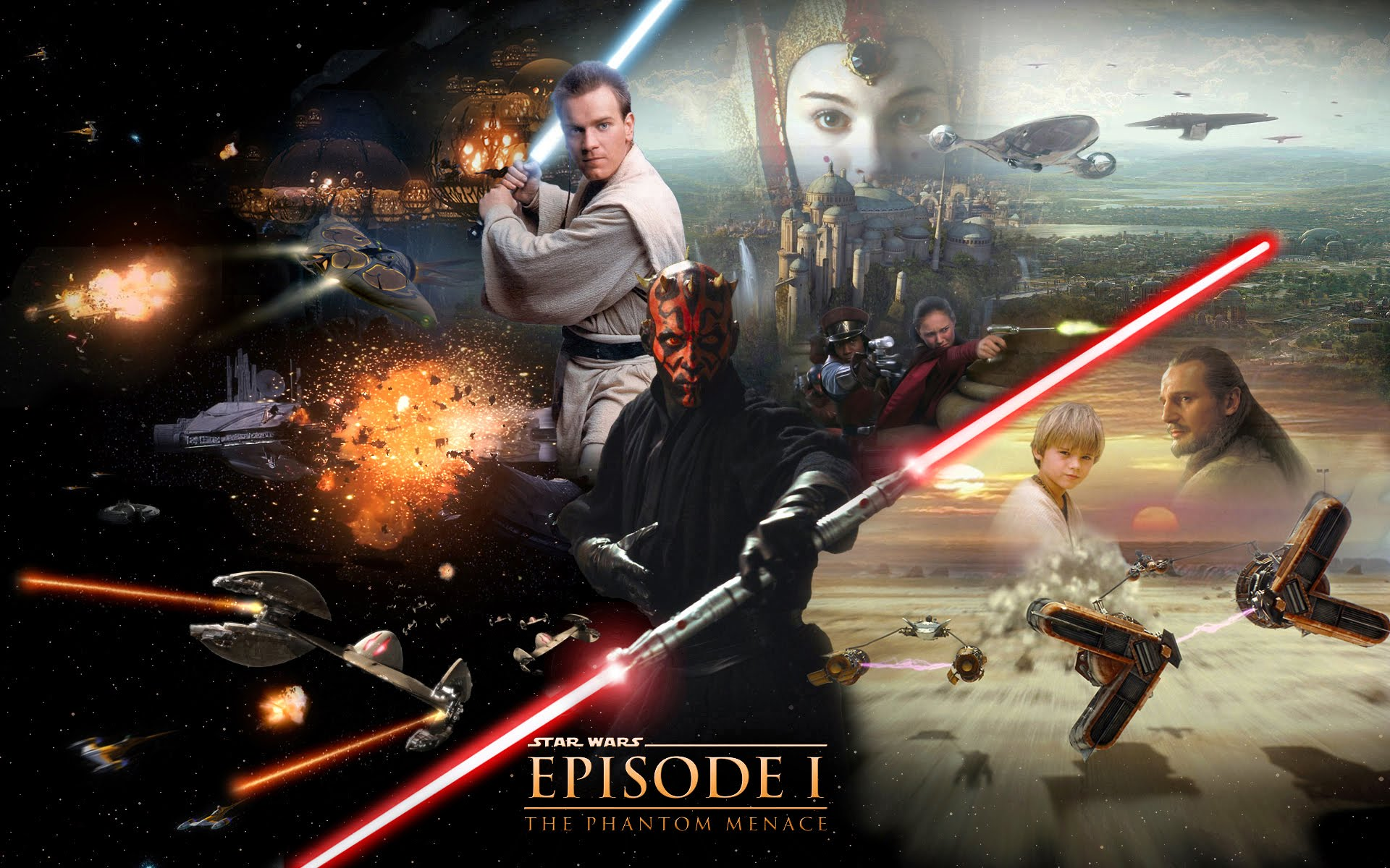 Star Wars Episode I The Phantom Menace Wallpapers Movie Hq Star Wars Episode I The Phantom Menace Pictures 4k Wallpapers 2019