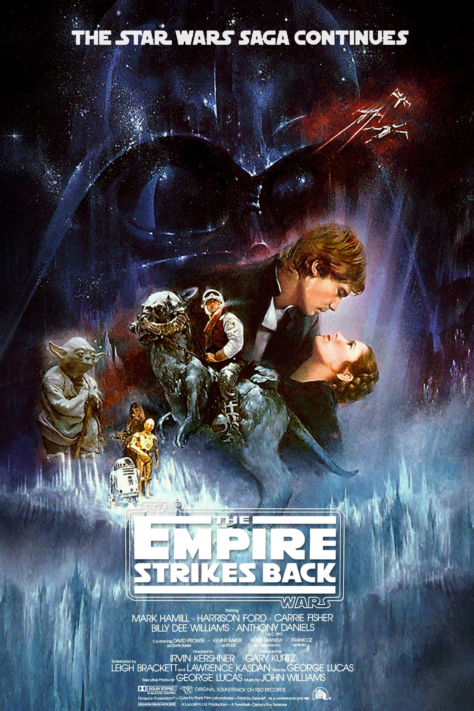 Star wars The empire strikes back #11 movie poster print