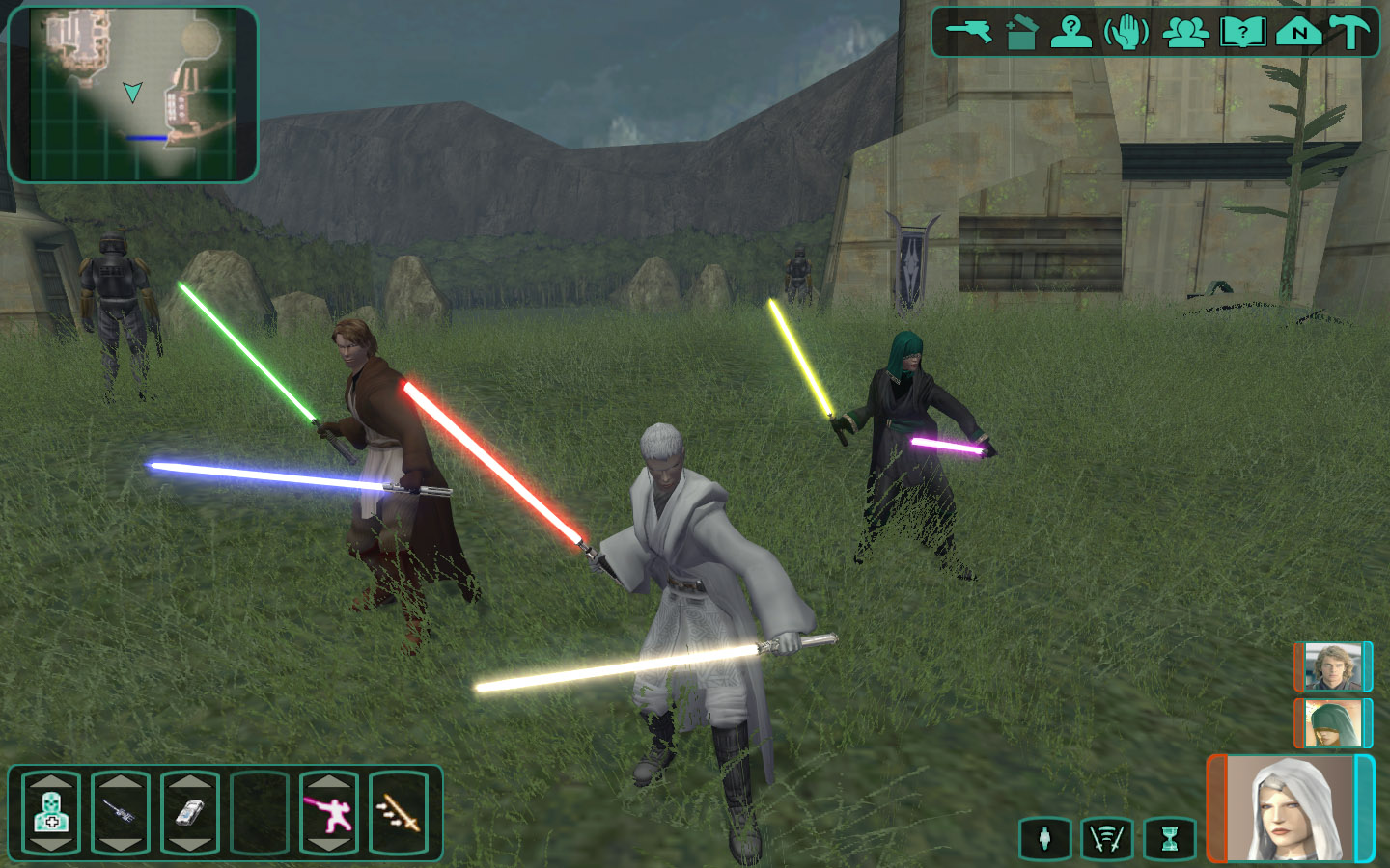 Star Wars Knights Of The Old Republic Ii Wallpapers Video Game