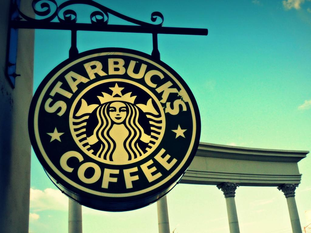 Nice wallpapers Starbucks 1024x768px