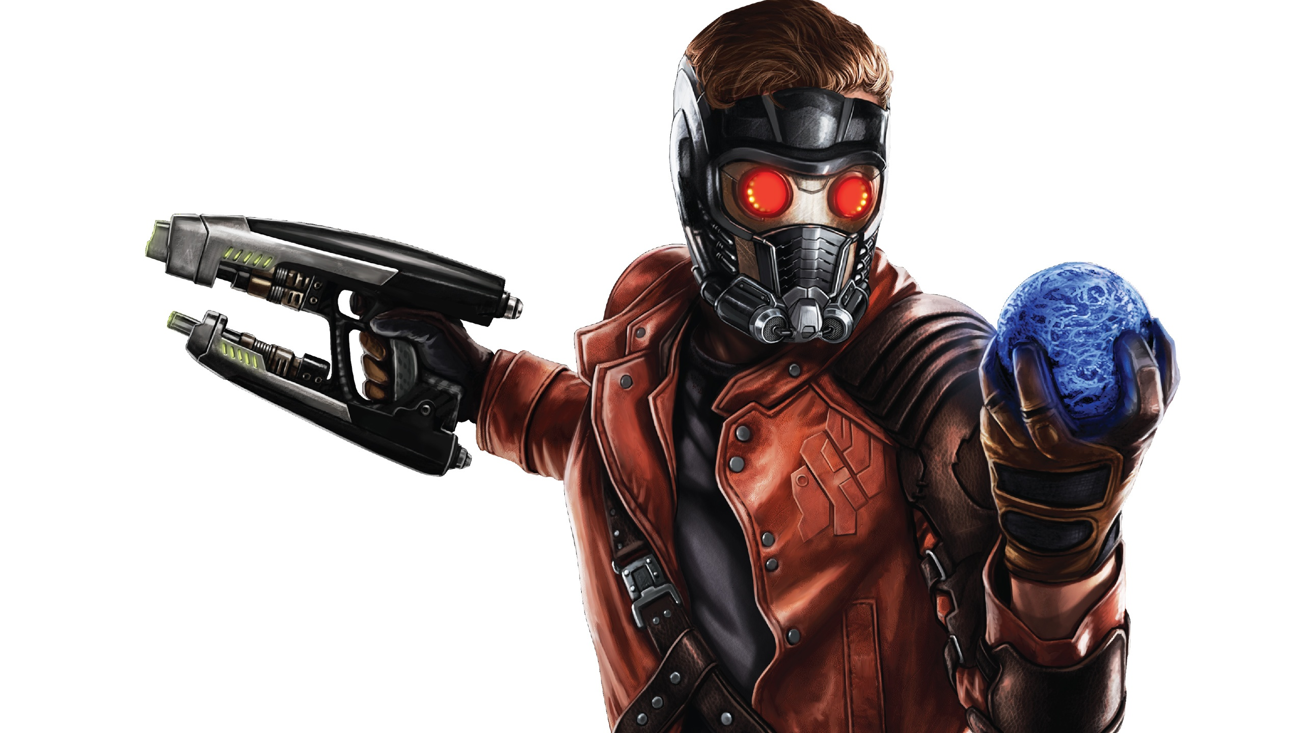 Nice Images Collection: Star-lord Desktop Wallpapers