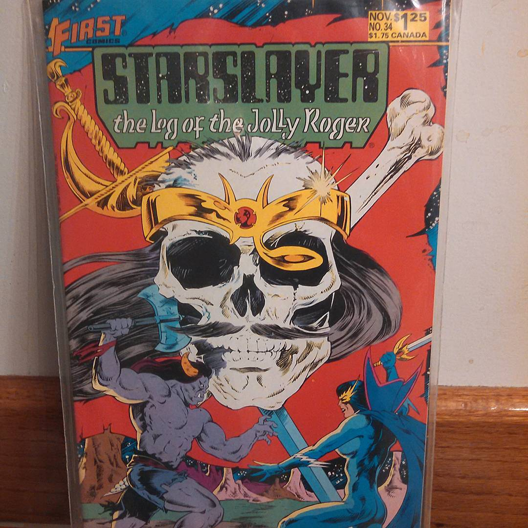 Starslayer: The Log Of The Jolly Roger Pics, Comics Collection