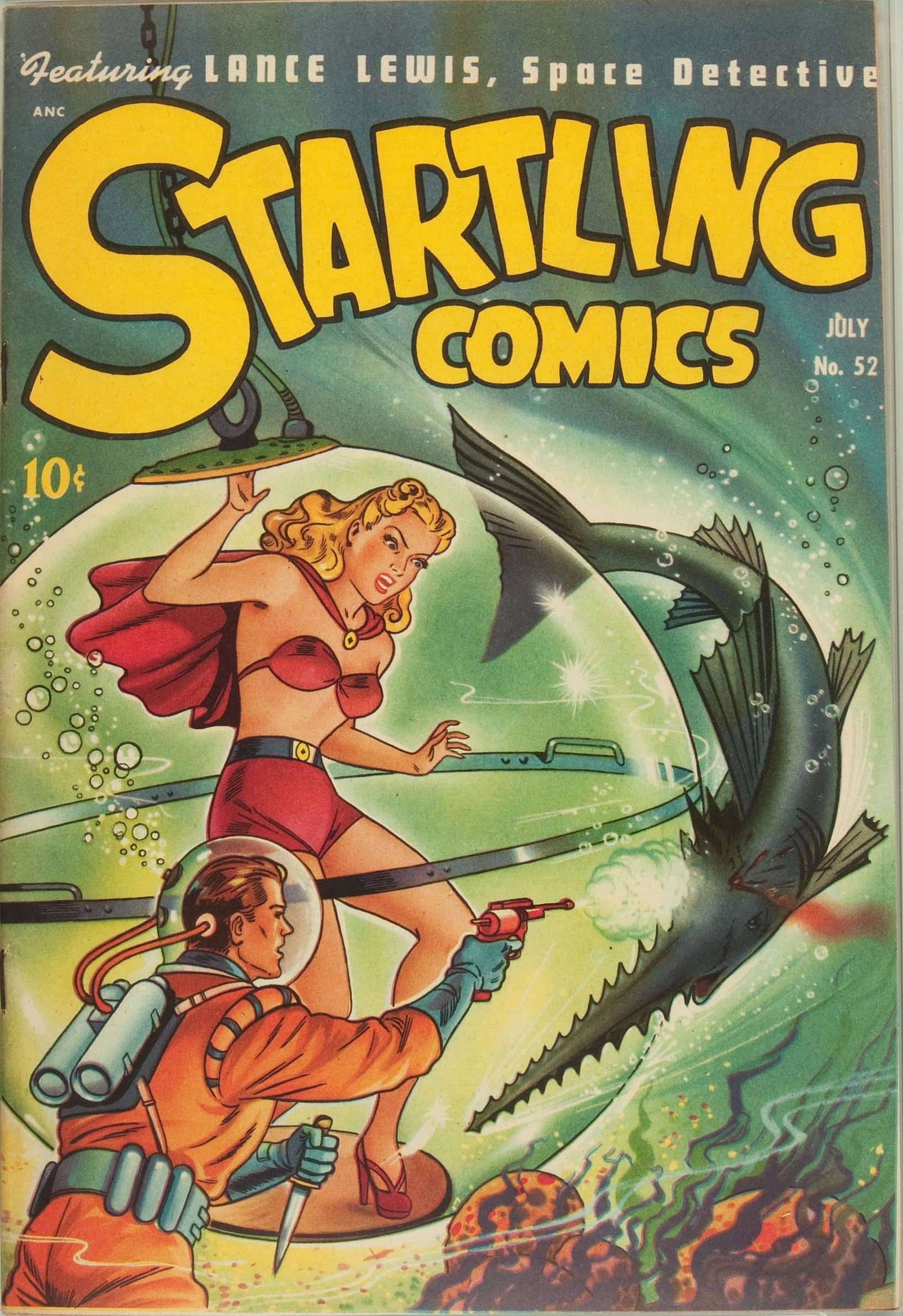 Startling Comics Pics, Comics Collection