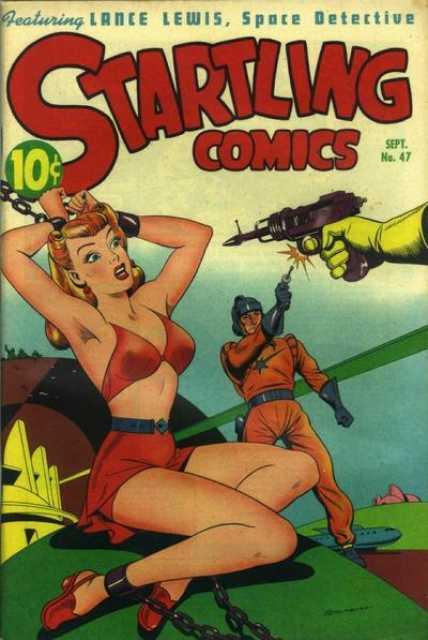 Startling Comics #12