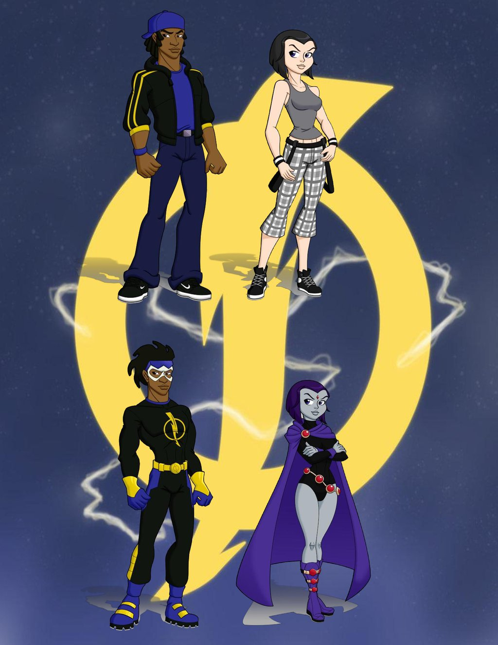 Amazing Static Shock Pictures & Backgrounds