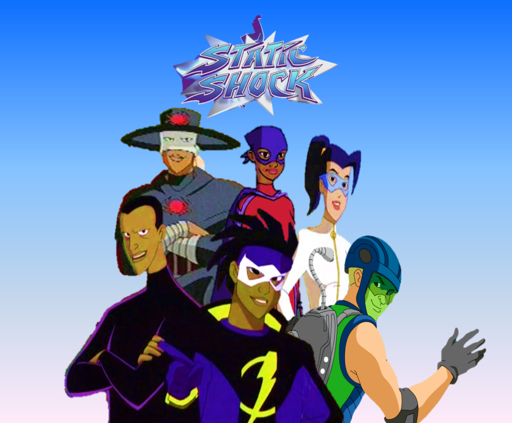 Nice Images Collection: Static Shock Desktop Wallpapers