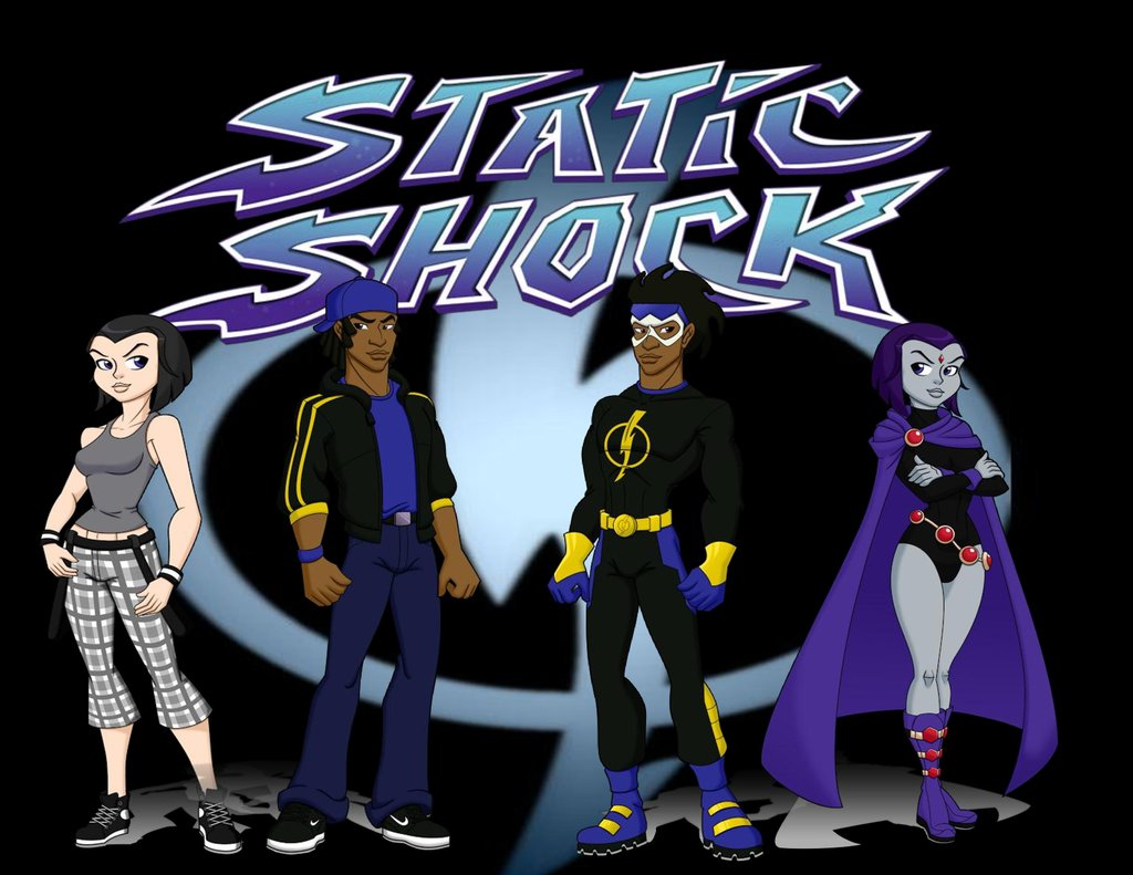 1024x791 > Static Shock Wallpapers