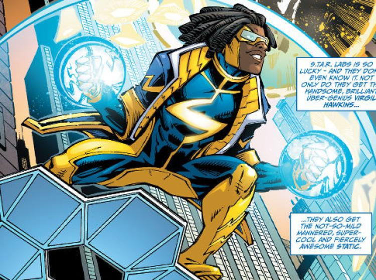 750x560 > Static Shock Wallpapers