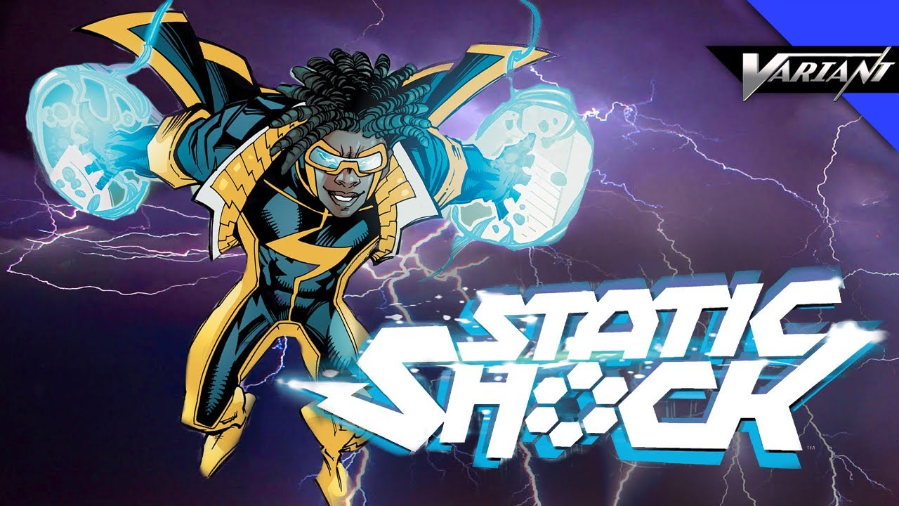 Static Shock High Quality Background on Wallpapers Vista