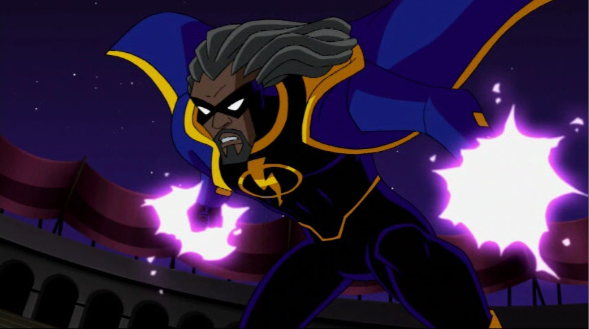 HQ Static Shock Wallpapers | File 56.31Kb