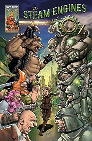 HD Quality Wallpaper | Collection: Comics, 312x477 Steam Engines Of Oz
