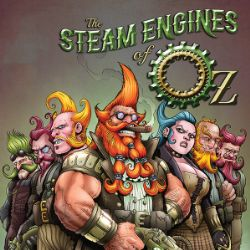 Nice Images Collection: Steam Engines Of Oz Desktop Wallpapers