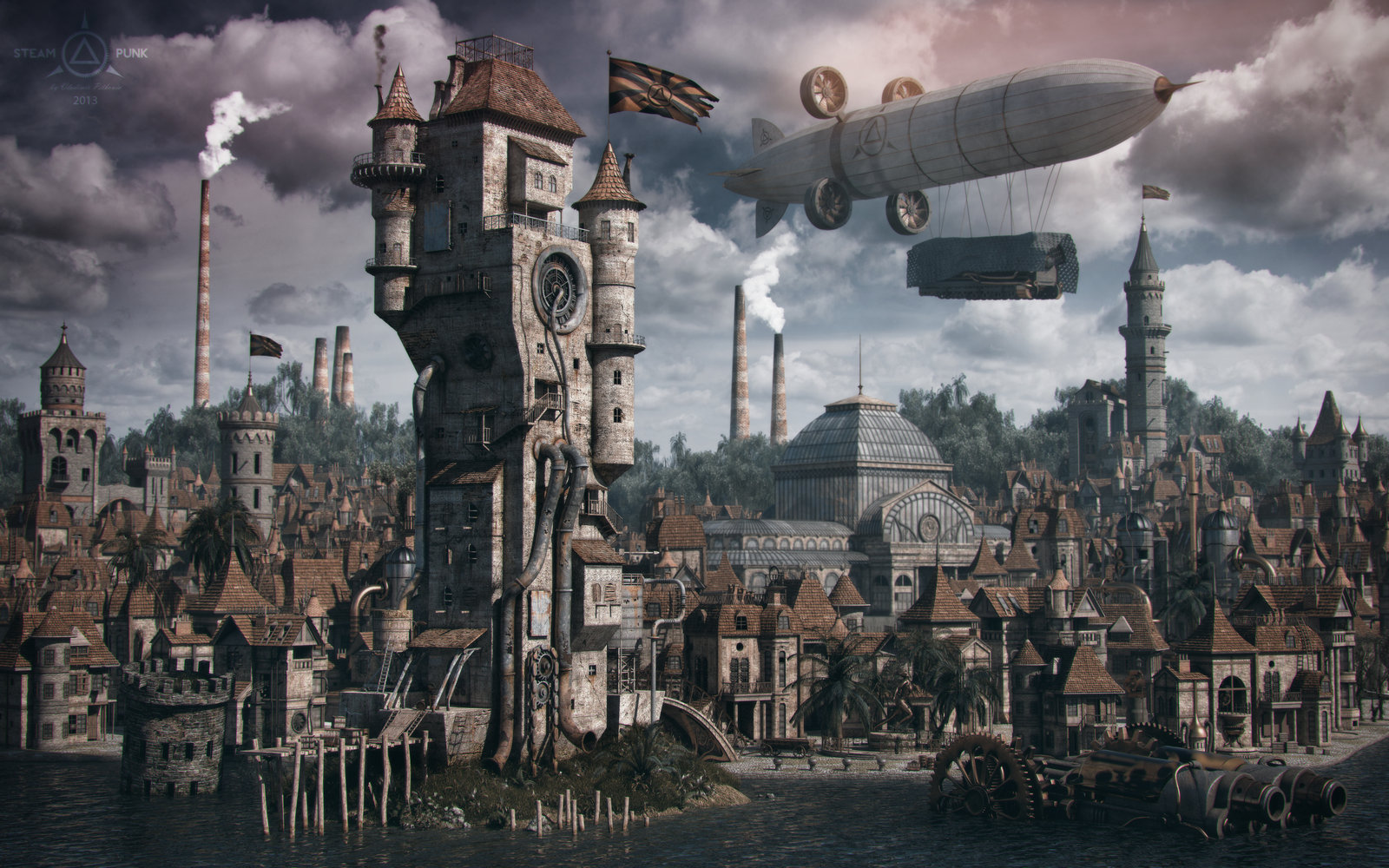 Nice Images Collection: Steampunk Desktop Wallpapers