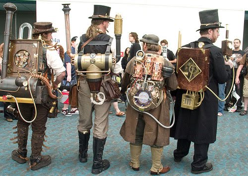Nice wallpapers Steampunk 500x354px