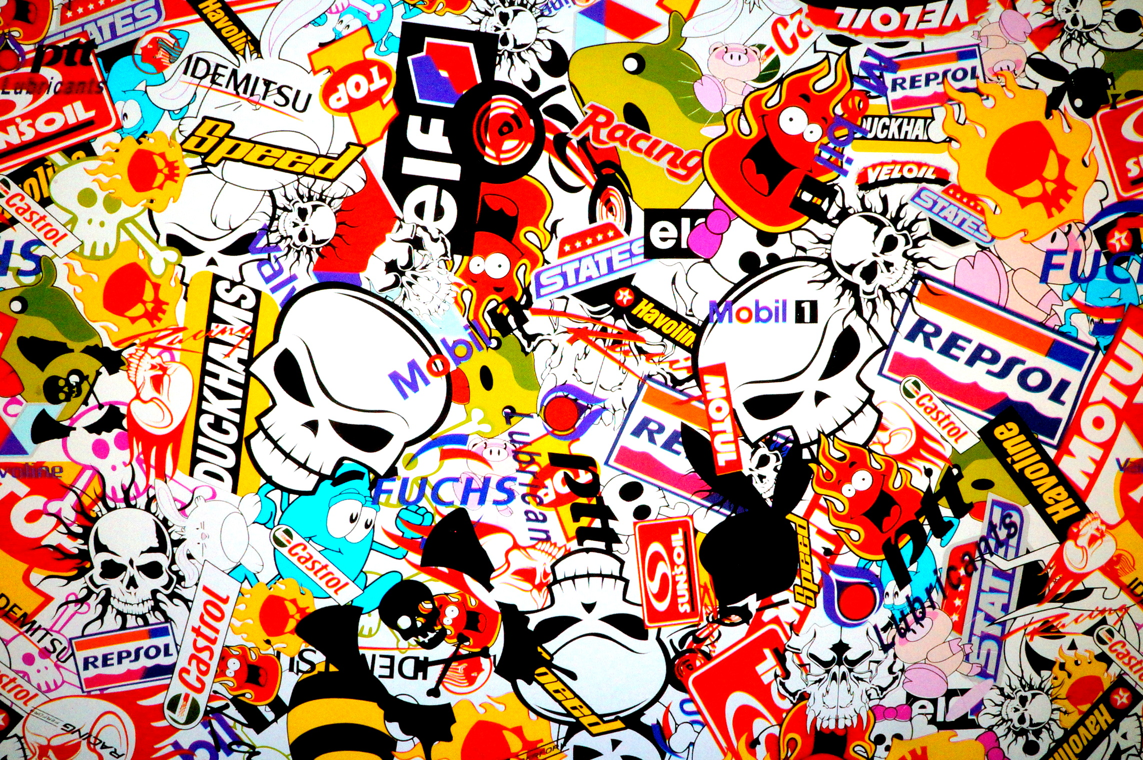 Sticker Bomb Wallpapers  Man Made  Hq Sticker Bomb Pictures