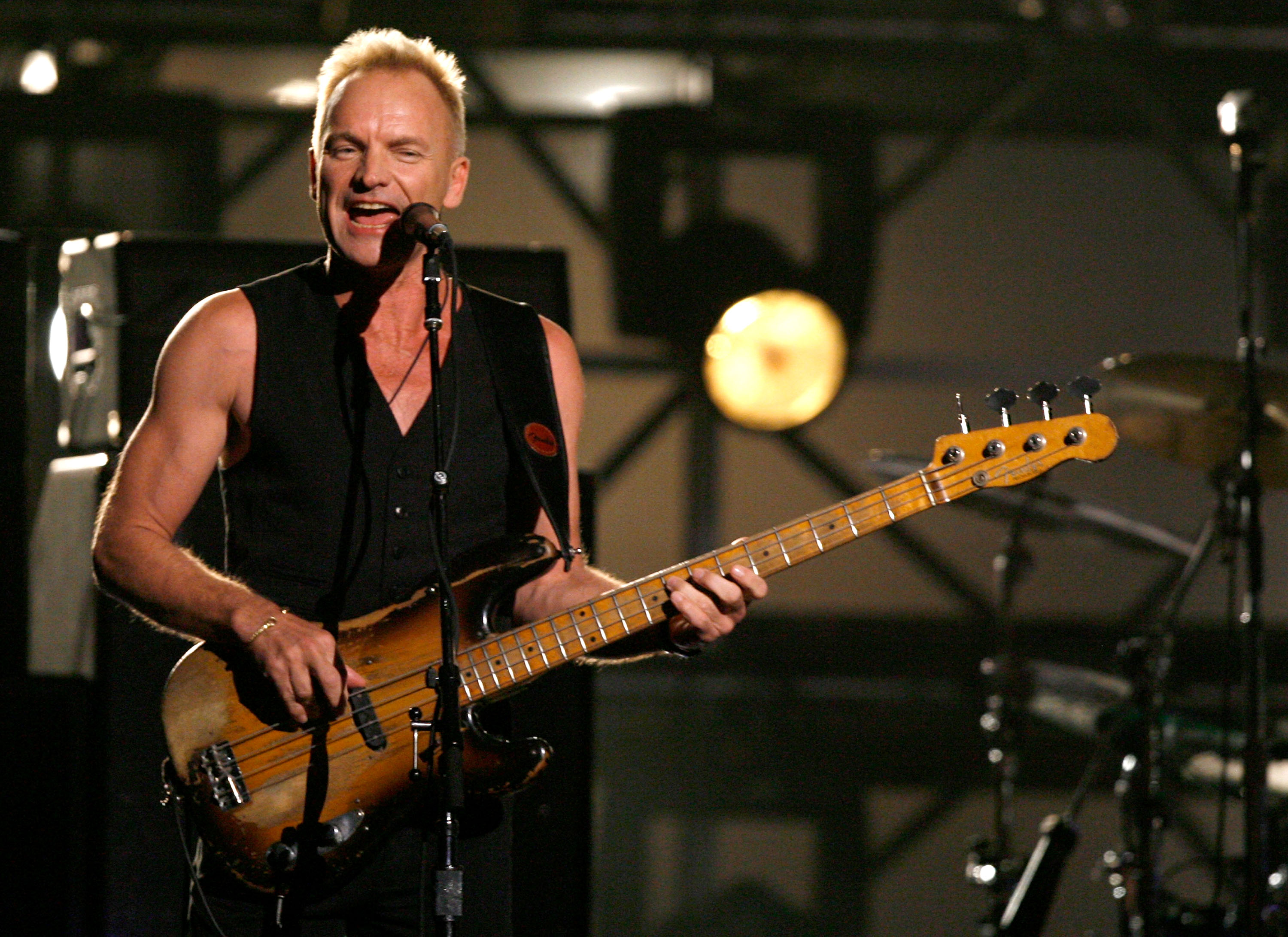 Sting Pics, Music Collection
