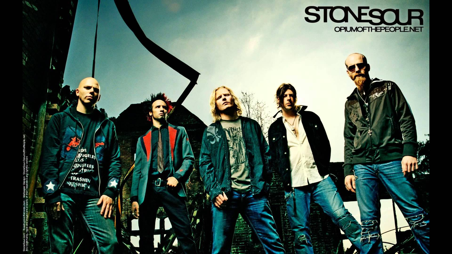 Nice Images Collection: Stone Sour Desktop Wallpapers