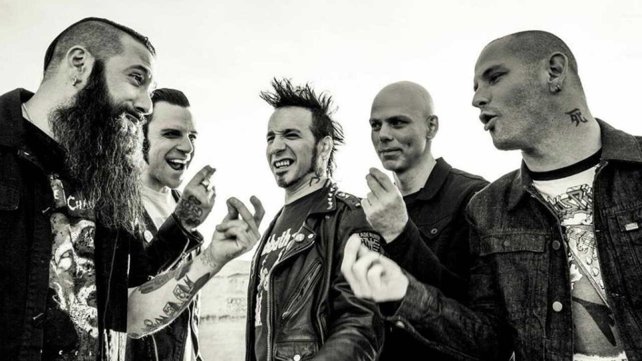 Nice wallpapers Stone Sour 1280x720px
