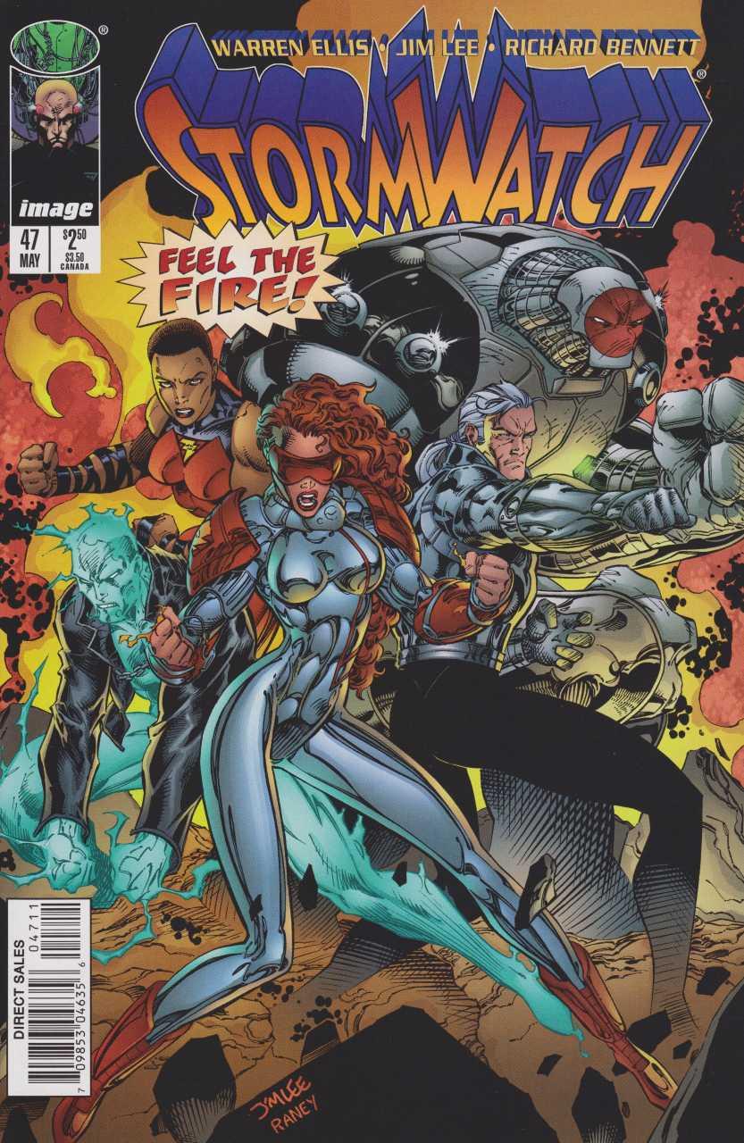 Stormwatch Pics, Comics Collection